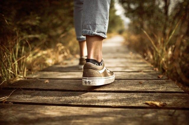 Mindfulness oefeningen – loopmeditatie
