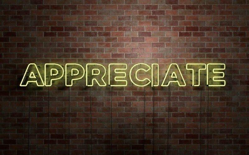 De kracht van waardering